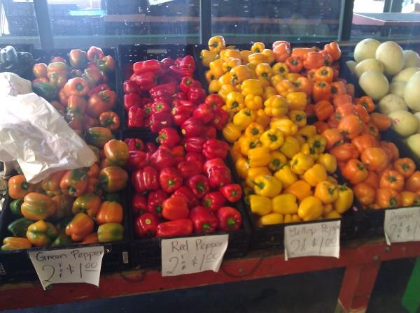 Fresh Veggies at the Kansas City River Market