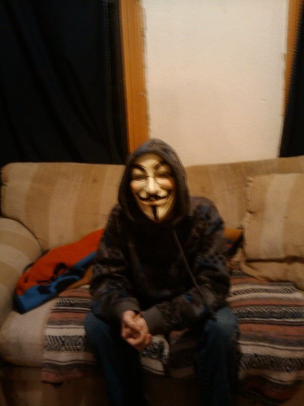 Overthinker Masked for Guy Fawkes Day (Bonfire Day)