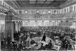 300px-Andew_Johnson_impeachment_trial