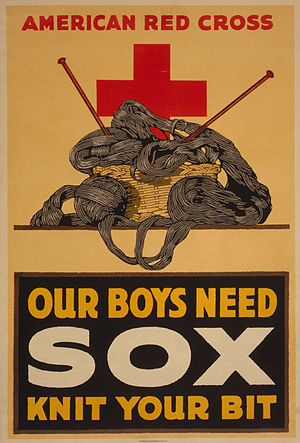 "U.S. World War I poster: ""Our boys need s..."