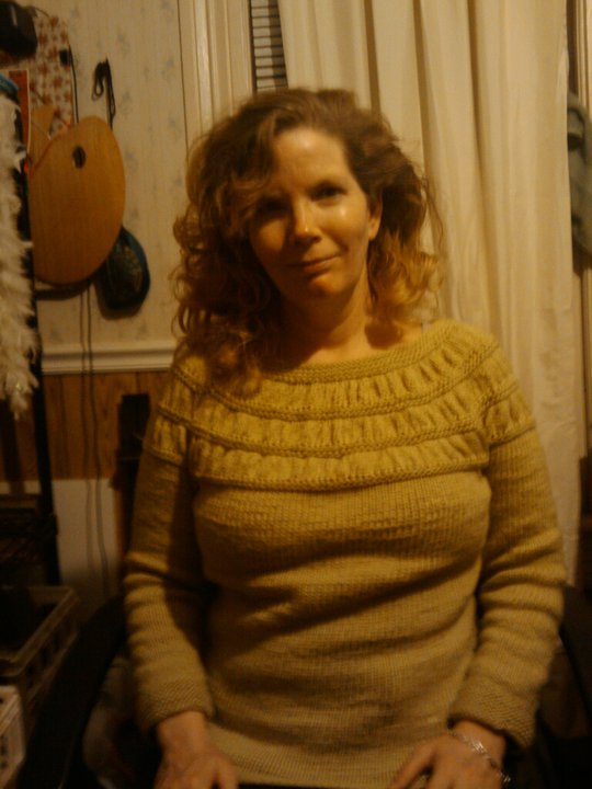 My new sweater