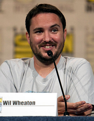 English: Wil Wheaton at a San Diego Comic-Con ...