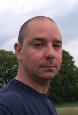 American science fiction author John Scalzi. Author of Fuzzy Nation
